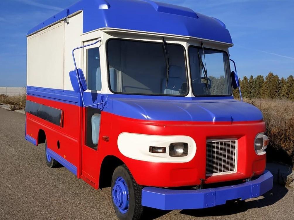 Food truck UPS
