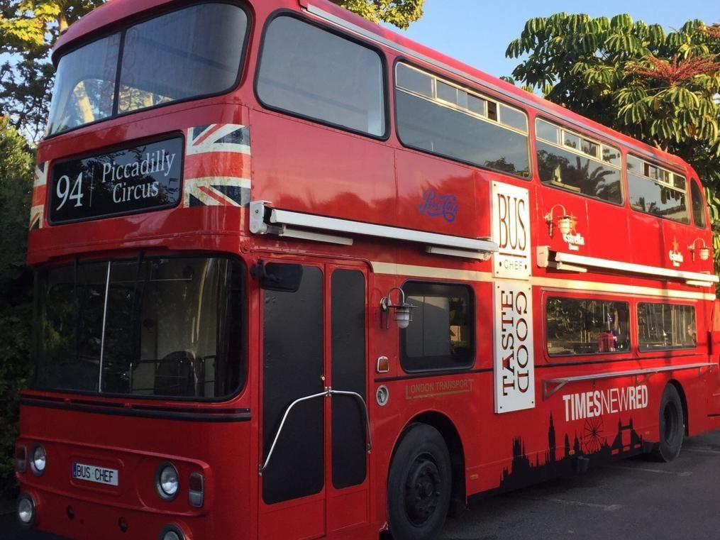 Bus Inglés de 2 pisos