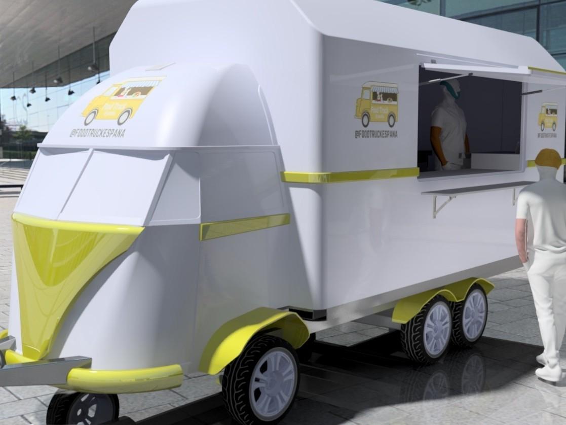 Food truck Remolque VW T1