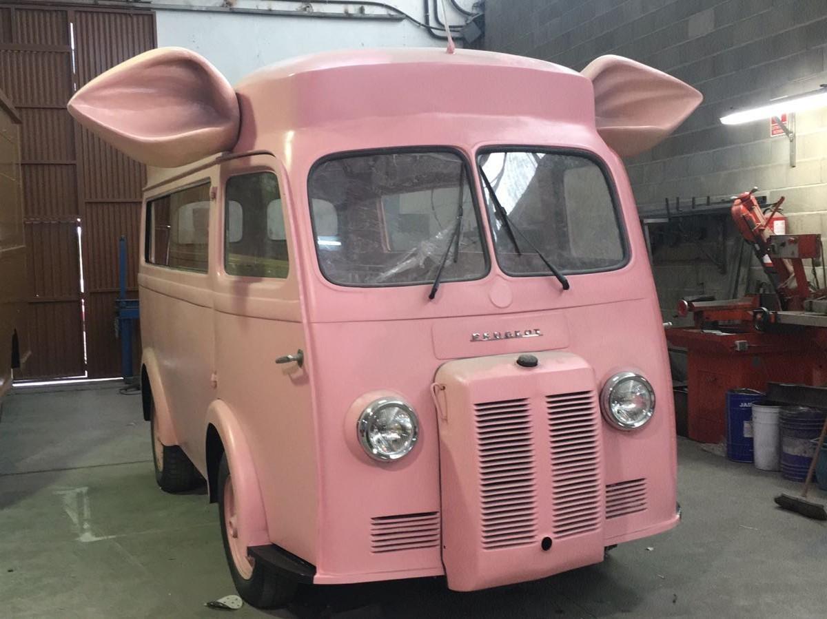 Cerdito food truck