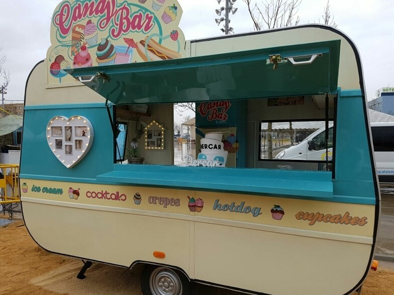 Food truck Candybar