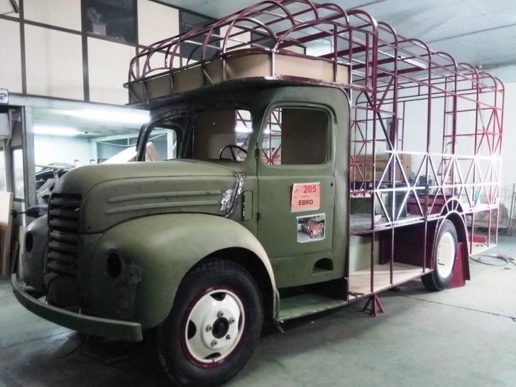 Food truck Ebro B-45