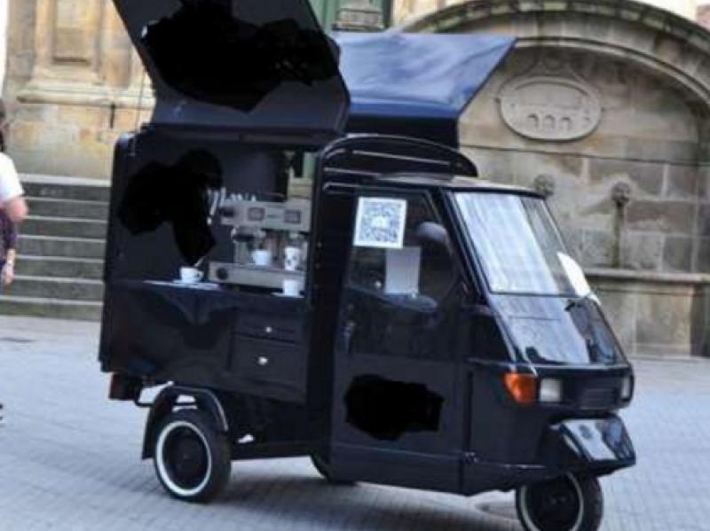 Piaggio APE 50 Coffee truck