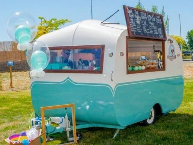Caravana vintage del 59