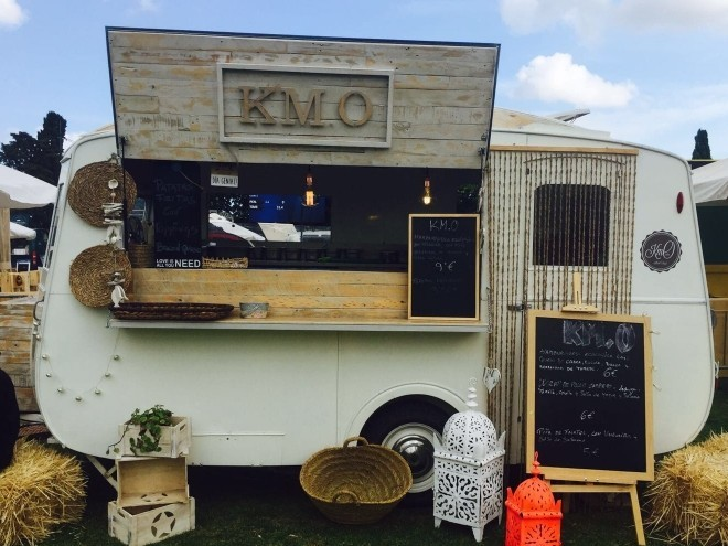 Caravana food truck vintage