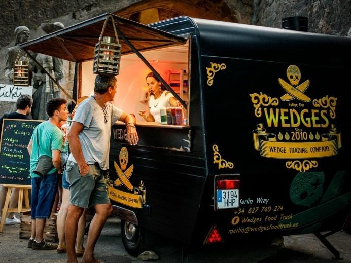 Wedges food truck