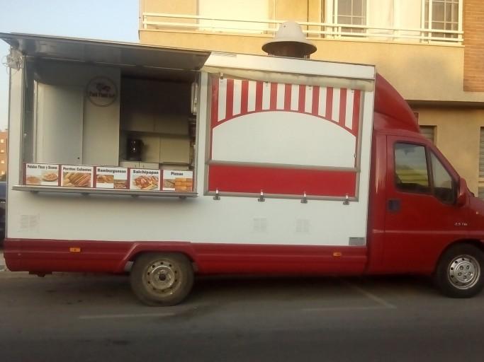 Vendo camión foodtruck