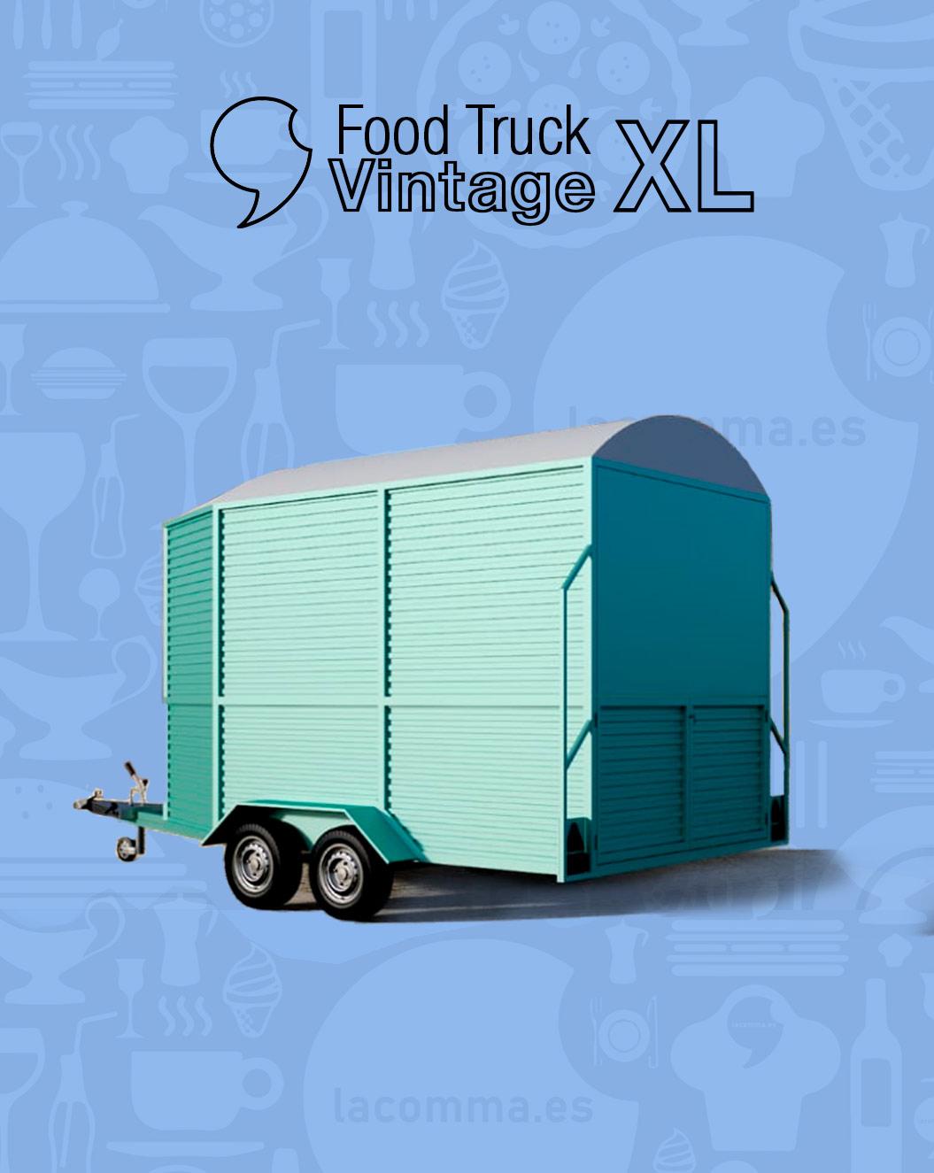 Food truck Vintage XL