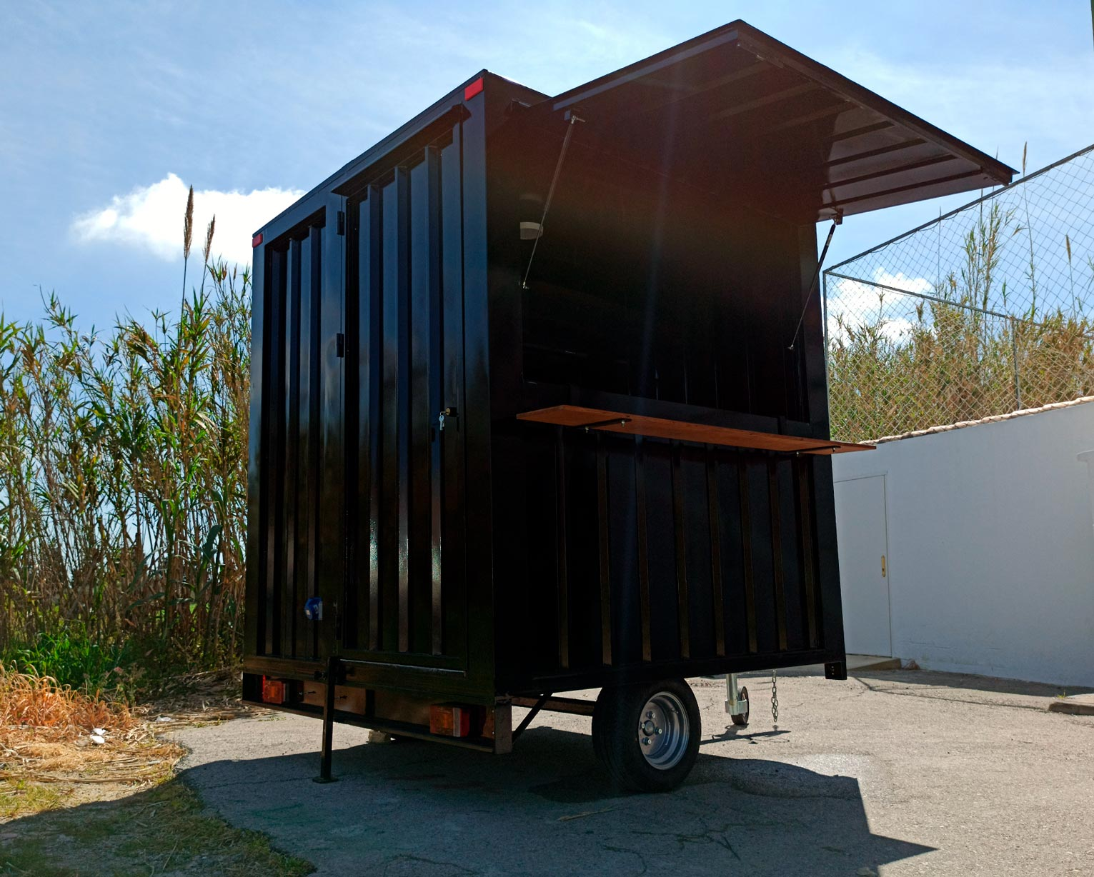 Food Truck Container