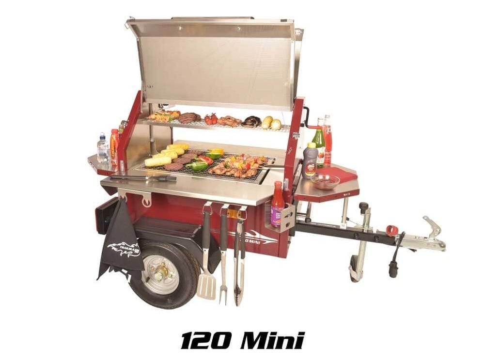 Remolque 120 Mini BBQ