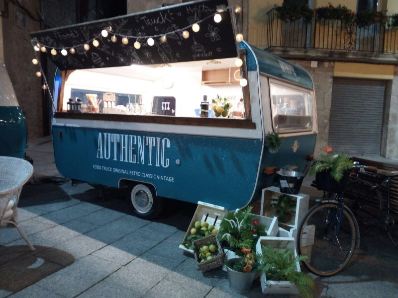 Caravana food truck en venta