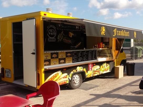 Food truck equipada