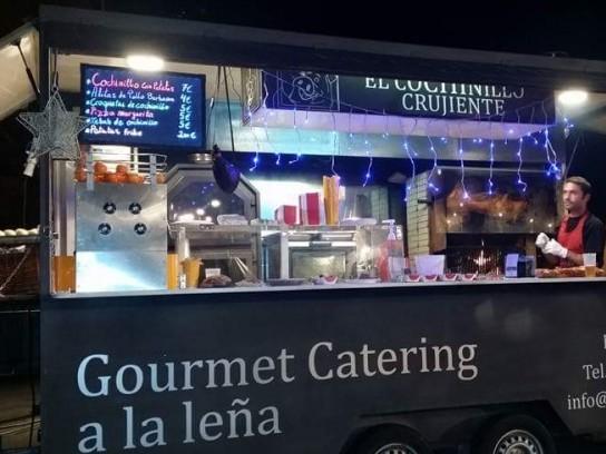 Food truck especial para leña