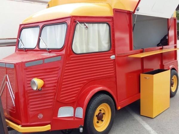 Food truck muy poco uso