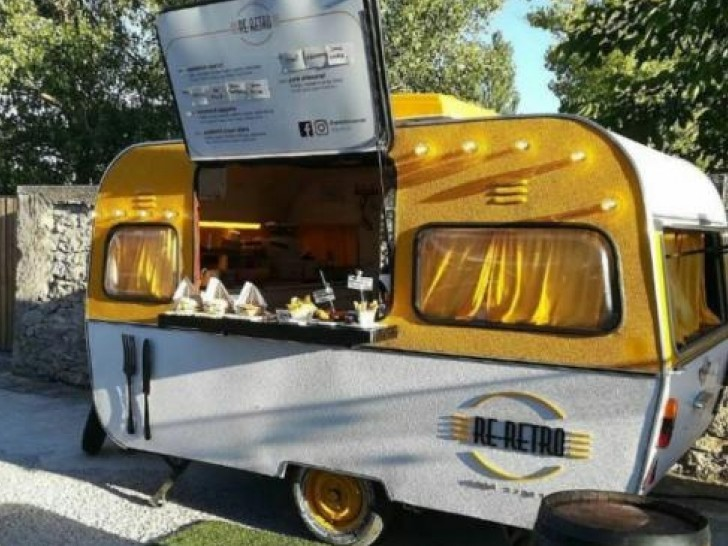 Food truck retro