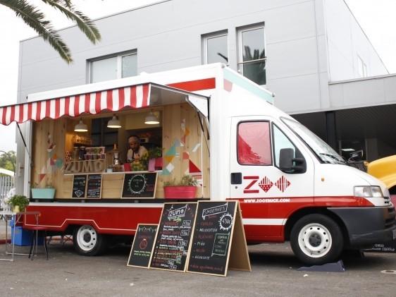 Food truck zumos o cocktelería