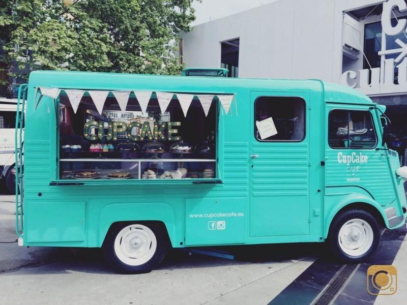 Cupcake Manresa food truck