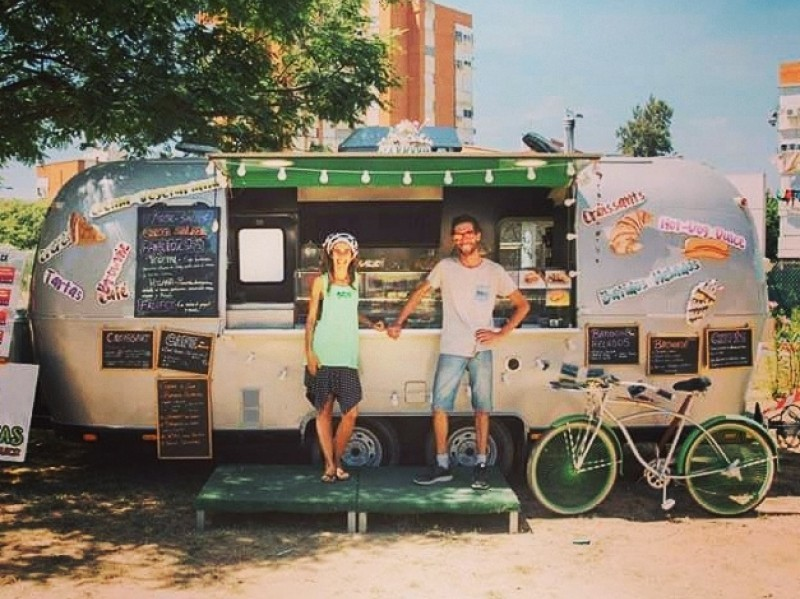 Dando Huertas food truck