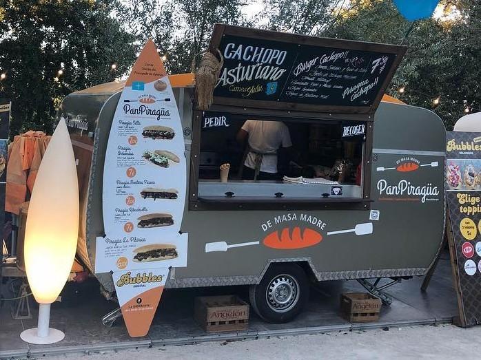 Panpiragüa food truck