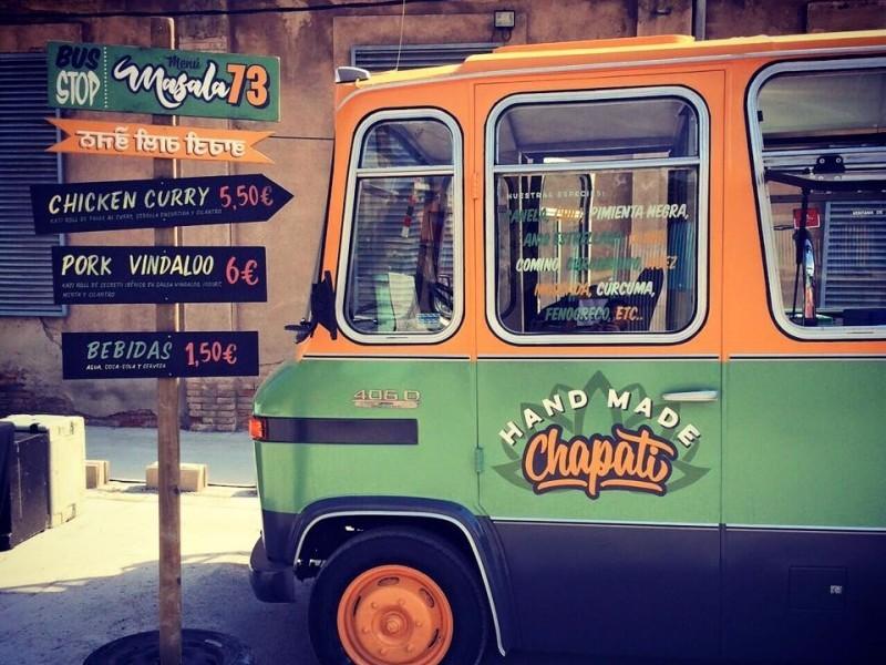 Masala'73 food truck