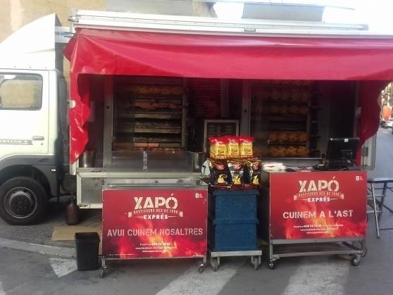 Xapó rostissers food truck