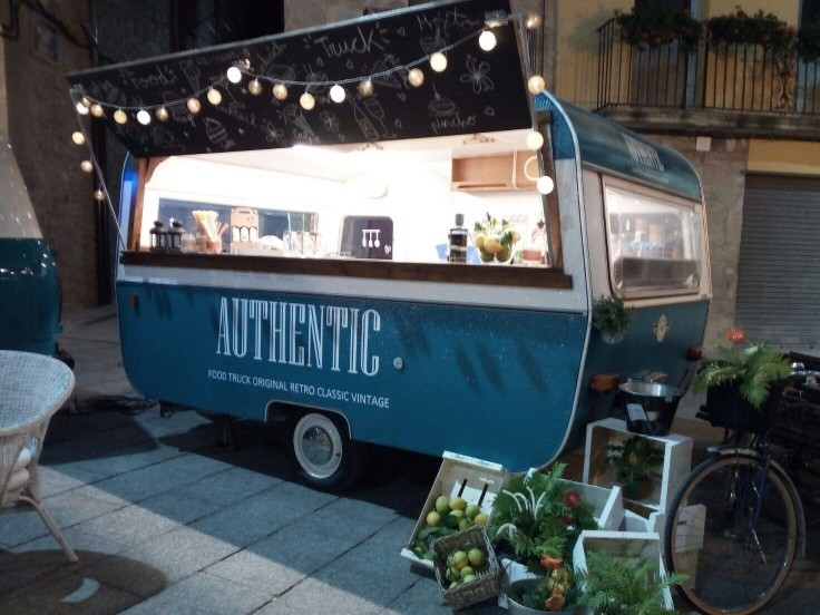 Authentic food truck