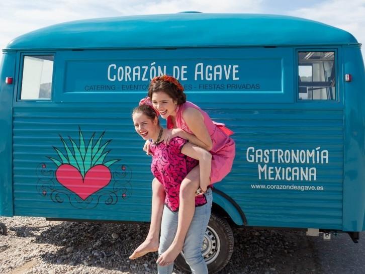 Corazón de Ágave food truck