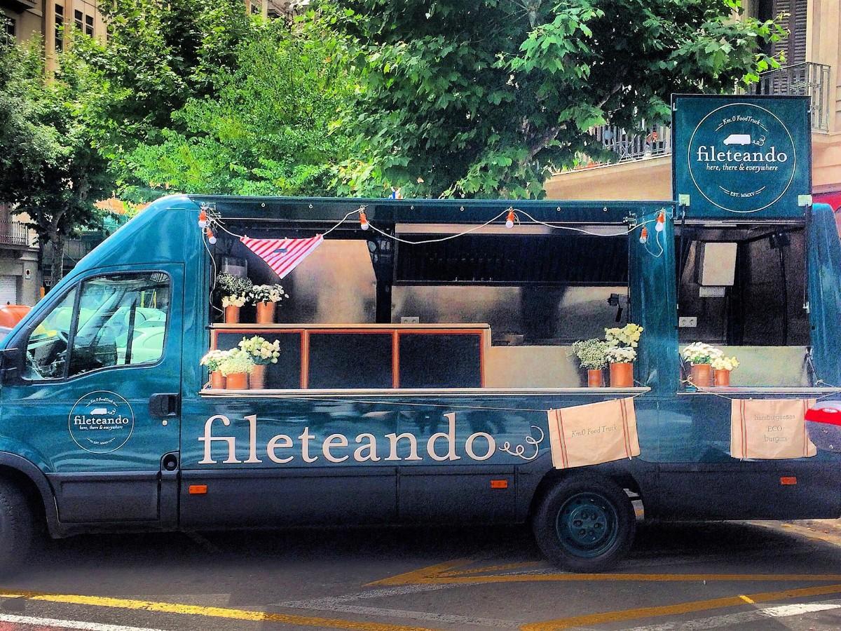 Fileteando food truck
