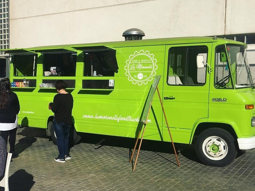 La Moreneta food truck