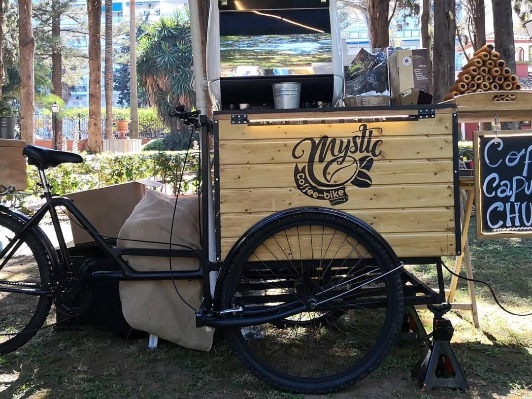 Mystic Coffe bike