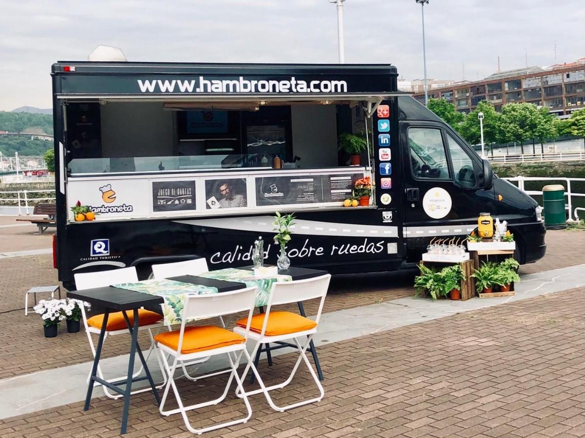 Hambroneta food truck